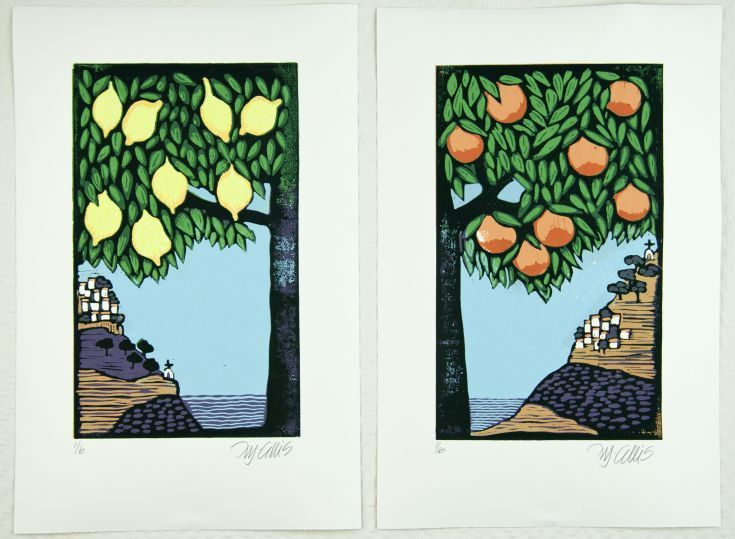 Buy Citrus, set of 2 linocuts, reduction, Linocut by Mariann Johansen-Ellis on Artfinder. Discover thousands of other original paintings, prints, sculptures and photography from independent artists.