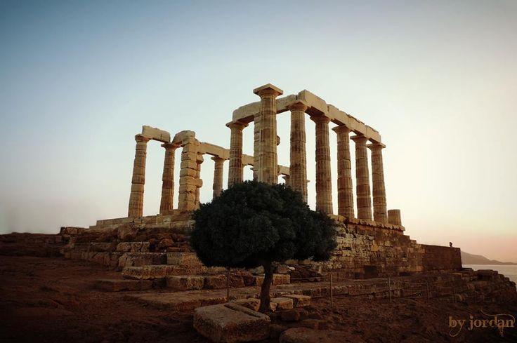 #sounio #temple #posidon #greece