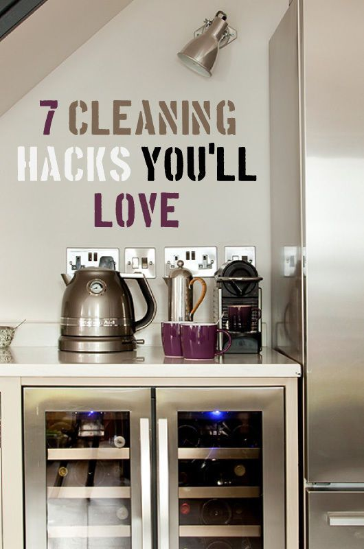 7 Cleaning Hacks You'll Love | Whether you're house-proud or housework-shy – everyone loves a cleaning hack. From using vinegar to tackle taps to vodka on a mattress, seven ideas to help you keep your home fresh