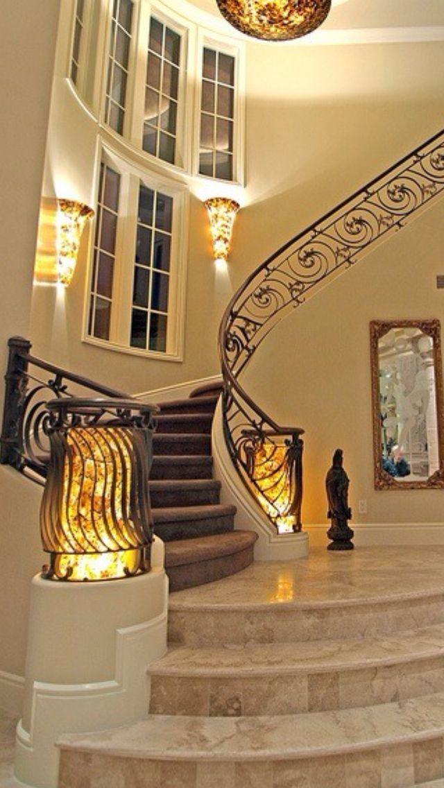 37 Best Luxurious Stairs Images On Pinterest Stairs Entry Foyer And Luxury Staircase