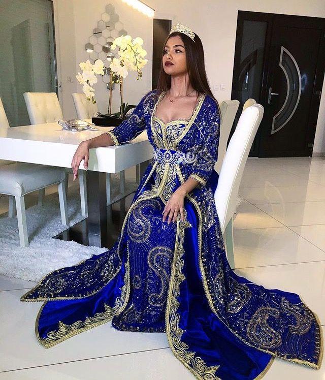 CAFTAN ROBES | Robe de mariée arabe, Robe
