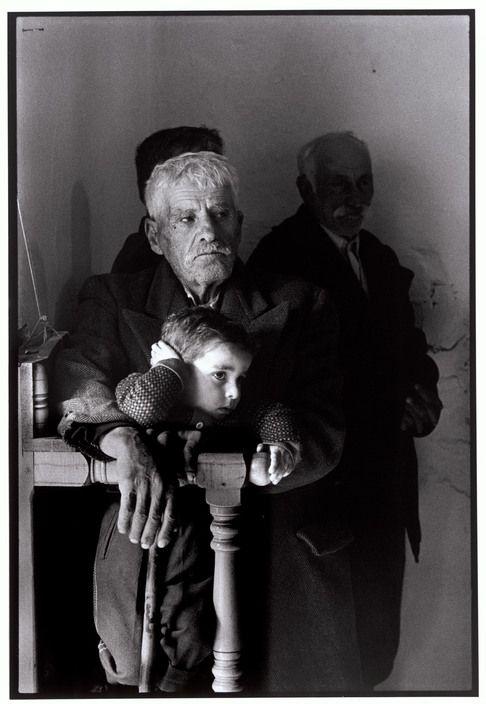 Όλυμπος Καρπάθου. Στην εκκλησία στο χωριό (1966)