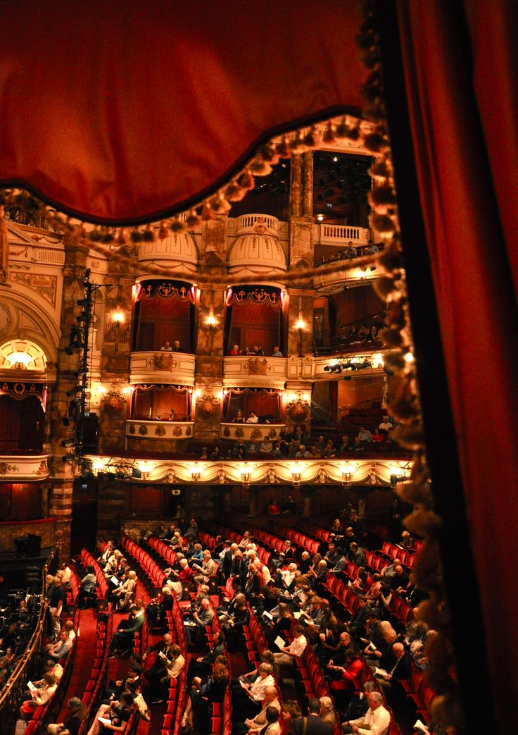 English National Opera at the London Coliseum in London, Greater London