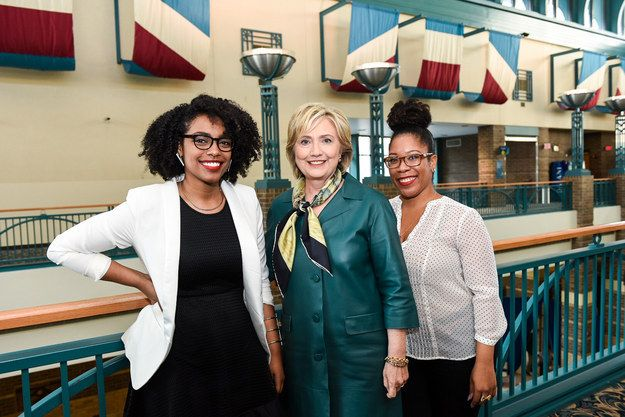 BuzzFeed's Another Round podcast sat down with Hillary Clinton to talk everything from Black Lives Matter to her thoughts on squirrels — and you can listen to the whole thing right now. | Listen To Hillary Clinton's Interview With BuzzFeed