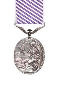 The Distinguished Flying Medal reverse view