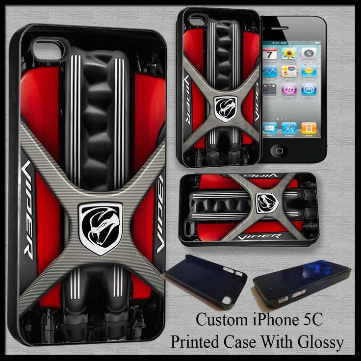 Design Custom Viper Cover Case For Iphone 5C Nice Fit For Gift