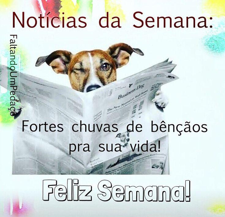 #felizsemana #frases #semana #bomdia #boasemana