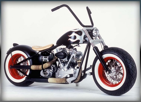 Russell Mitchell's Choppers and Motorcycles