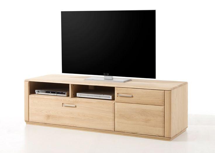 Lowboard Eiche Bianco Asti TV-Schrank Phonomöbel Holz 21359. Buy now at https://www.moebel-wohnbar.de/lowboard-eiche-bianco-asti-tv-schrank-phonomoebel-holz-21359