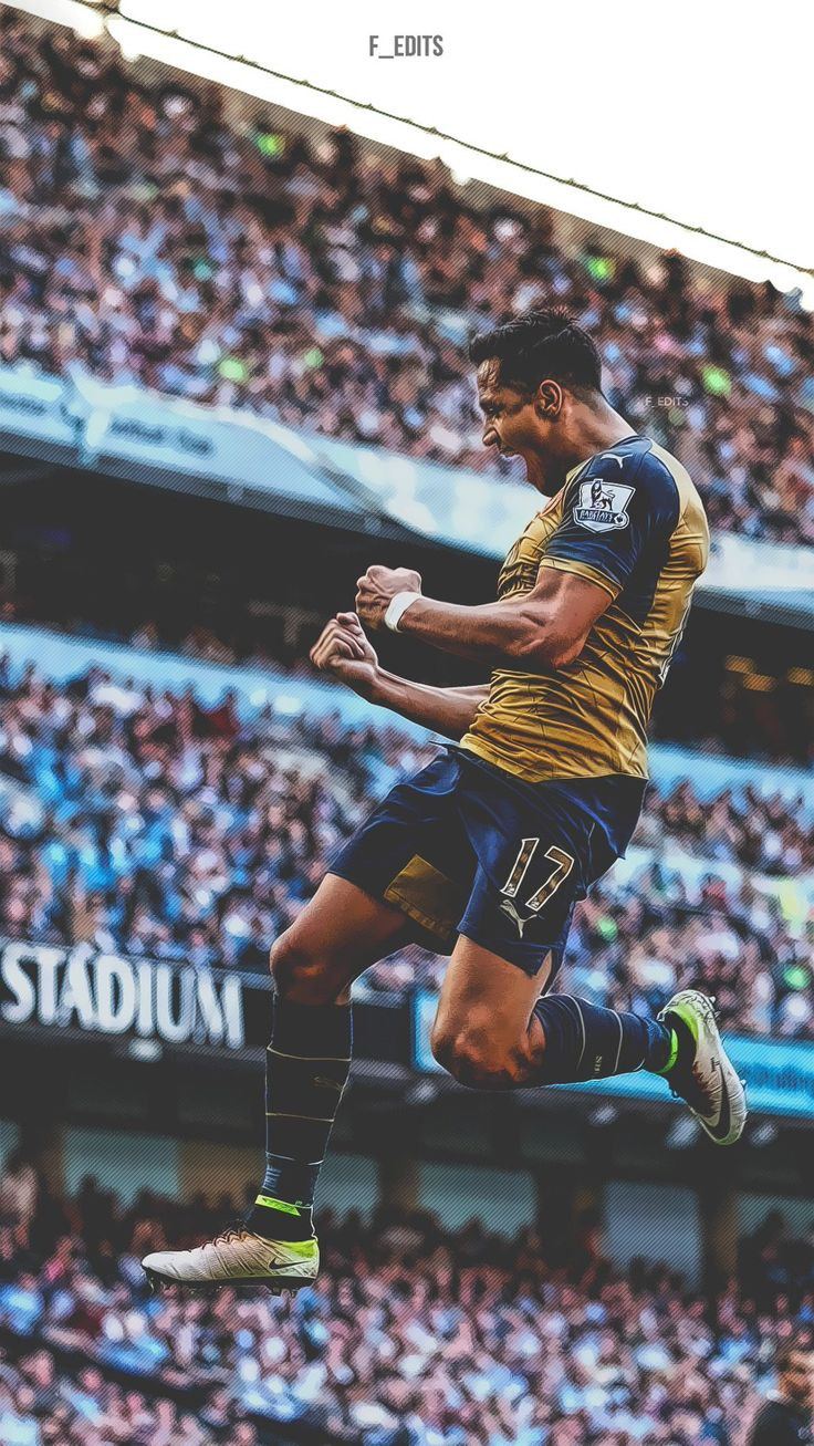 Alexis Sanchez. Lock screen.