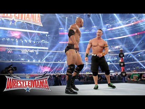 John Cena returned to join forces with The Rock: WrestleMania 32