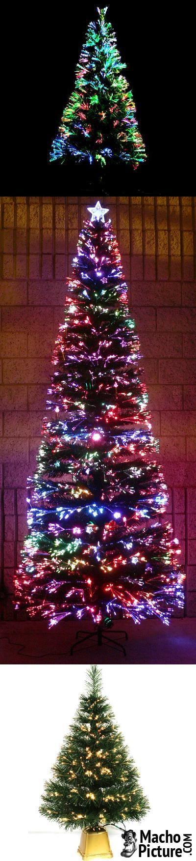 Fiber optic christmas tree - 4 PHOTO!