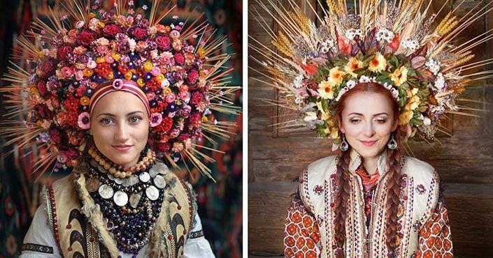 Nádherné kvetinové koruny na hlavu inšpirované slovanskou kultúrou v sebe nesú posolstvo mieru, pokoja a tradície. Ukrajinské tradičné handmade koruny