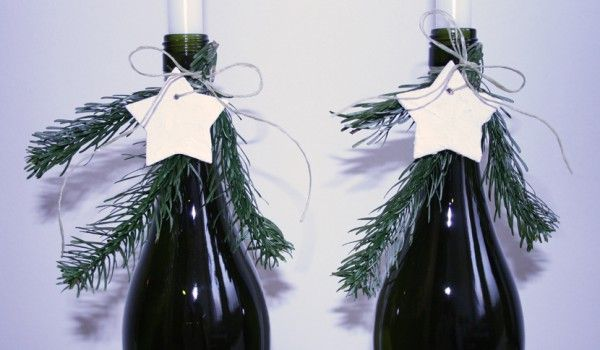 versierde flessen