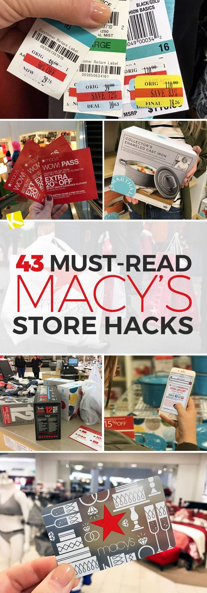 321 best couponing images on pinterest cowls saving money and all 43 must read macys store hacks fandeluxe Gallery
