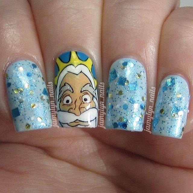 Aladdin Nail Art: 17 Best Images About Disney Trip Nail Art On Pinterest