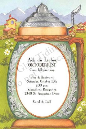 Germany invite for our 2012 oktoberfest party