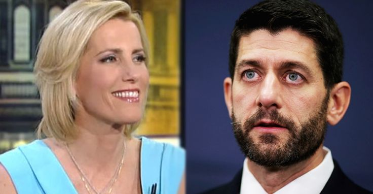 Laura Ingraham Rips Paul Ryan, Suggests Trump Supporters Should Pressure Him To Resign