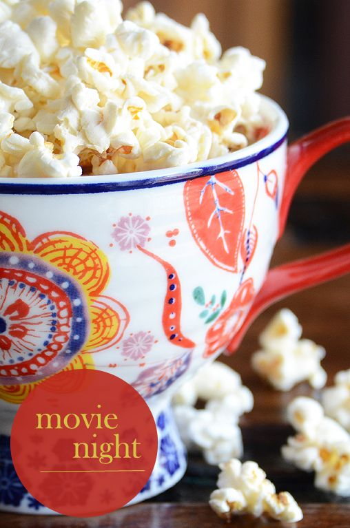 fun movie night finger food ideas!