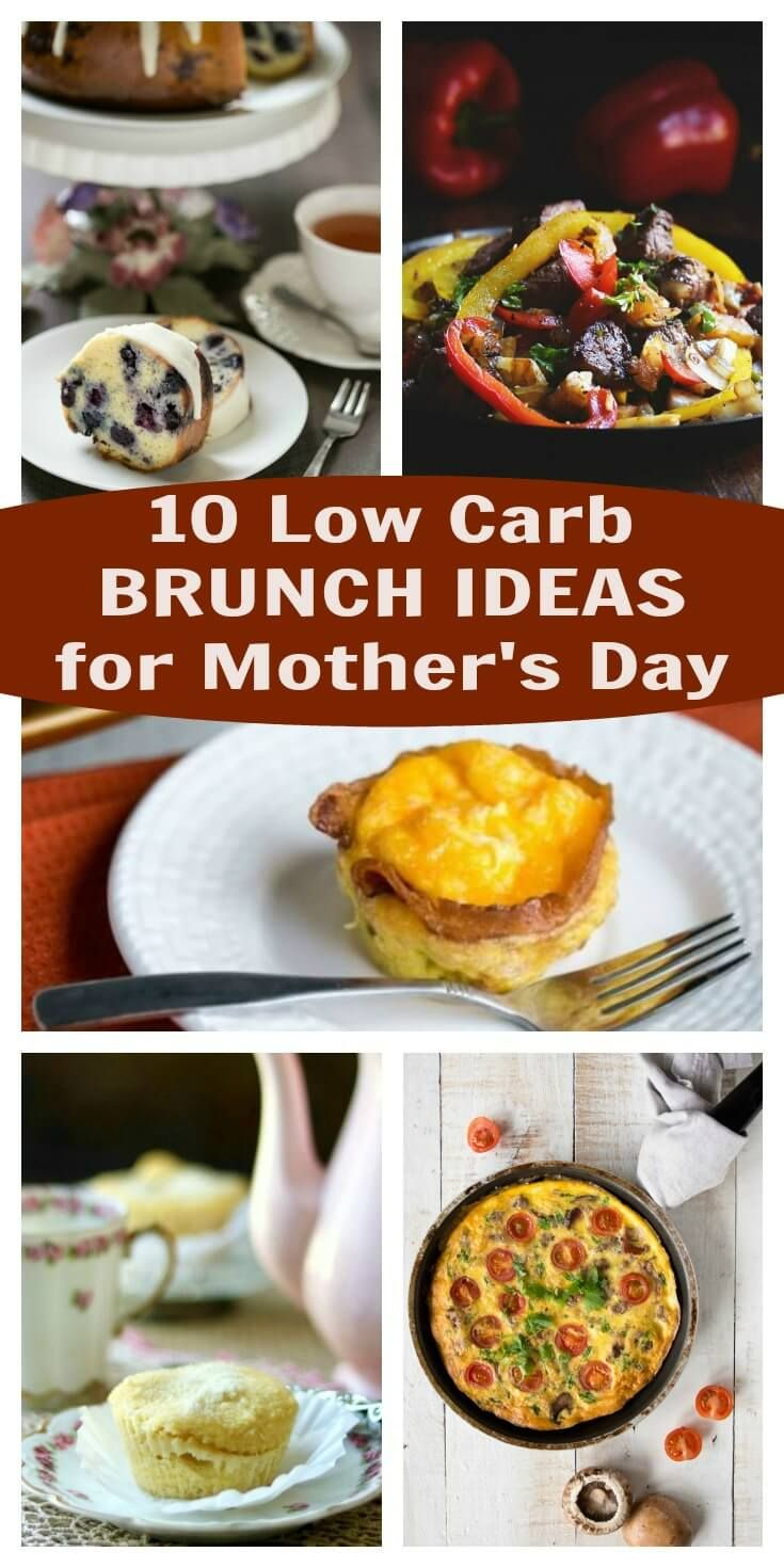 10 Low Carb Brunch Ideas for Mother's Day