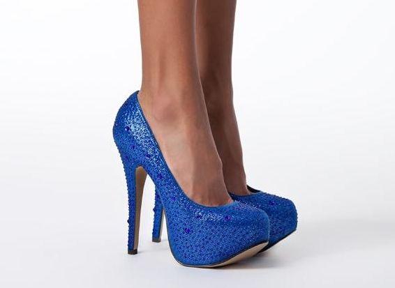 Onlineshoe Señoras para mujer del Glitter Negro y rojo con tachuelas estilete ocultos zapatos de plataforma - Glitter Negro y Rojo UK3 - EU36 - US5 - AU4 VghAA4U7