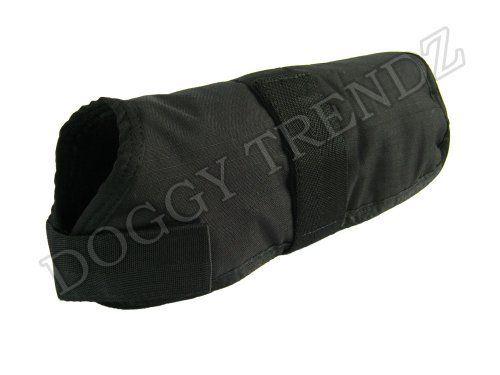 Waterproof Dog Coat Jacket Black Fur Lining Raincoat Xxl Size 30' ** Remarkable product available now. : Dog coats