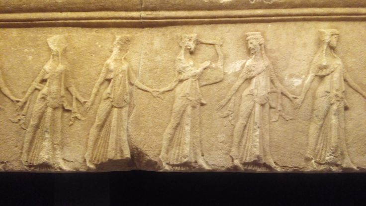 Kavirian Dancers from the Sanctuary of the Great Gods