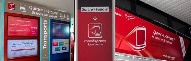 Station Aéroport Saint-Exupéry - Rhônexpress navette Lyon Saint-Exupéry