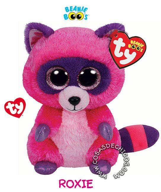 Ty Beanie Boo - Roxie the racoon