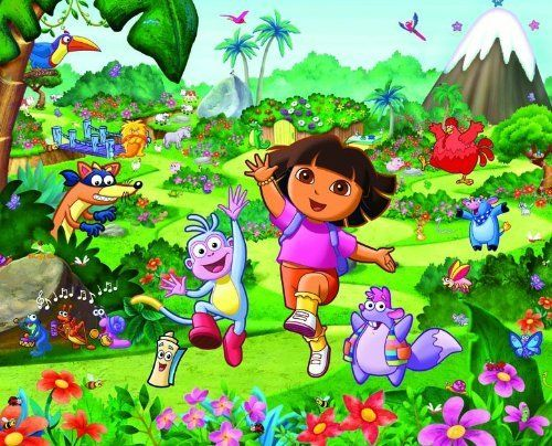 Uk Children's Wallpaper Mural Walltastic Dora the Explorer by Walltastic Ltd.. $69.99. Easy To Put Up and Take Off in 12 Simple Steps Can Easily Do It At Home With Your Kids.. The Paper Used Has Been Supplied by Companies That Adhere to The Sustainable Forest Management Program and ISO14001 In Order To Maintain and Improve The Quality of The Environment and The Forest Eco-System.. Ranging Tots to Teens Each Theme Are of The Highest Quality with Eye Catching Feature From ...