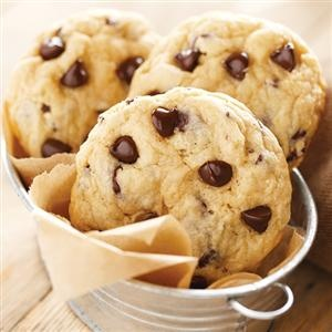 Easy Chocolate Chip Cookies. Substituted the Hungry Jack with Jiffy Mix