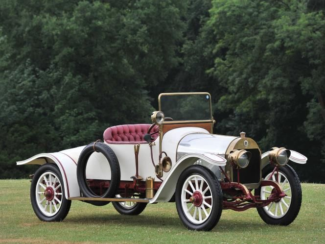 1913 Benz 8/20 HP Roadster (© Tim Scott ©2013 courtesy of RM Auctions) ❤❤