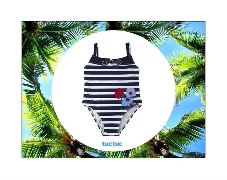 #Swimsuit for little #girls from #TucTuc with 40% #discount!  Available only in size 6Y.  Shop now at: www.kidsandchic.com/tuc-tuc-girl-swimsuit-lady-marine-en.html  Check all #swimwear and #beach #accessories for boys and girls at www.kidsandchic.com.  #sale #rebajas #kidsandchic #kidsboutique #barcelona #castelldefels #shoponline