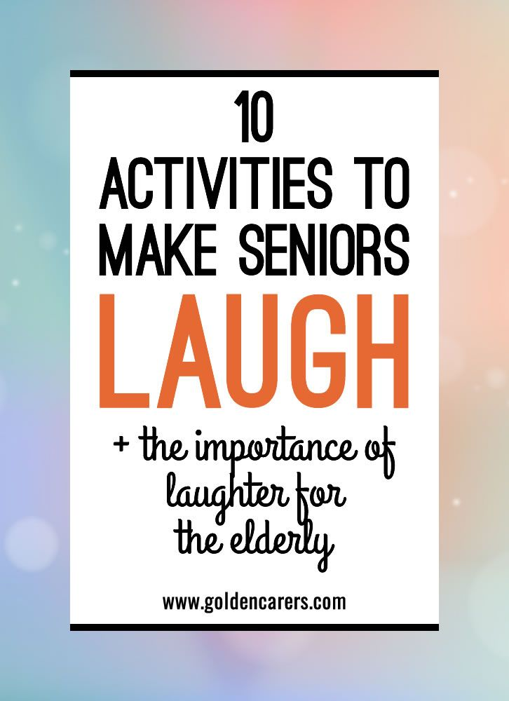 activities for senior adults