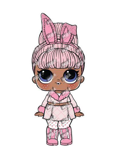 Snow Bunny Mother daughter Lol dolls Lol Cute dolls