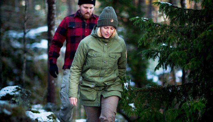 Fjällräven Greenland Winter Parka - Fjällräven Canada Shirt - www.partioaitta.fi
