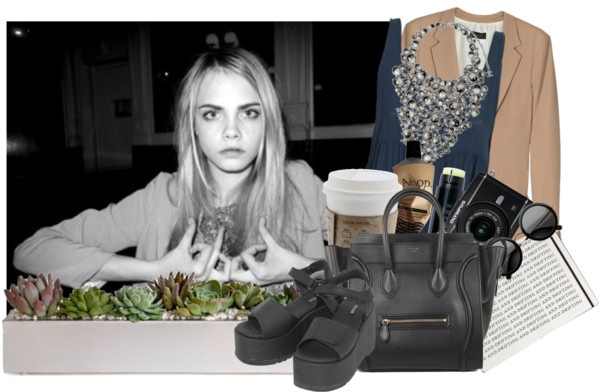 """""""organic demure"""" by onlybytheocean ❤ liked on Polyvore"""