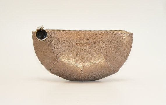 Designer leather wallet by ErdosKlaraLeather on Etsy