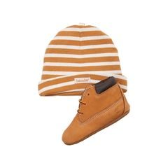 Infant Timberland Boot and Hat Set