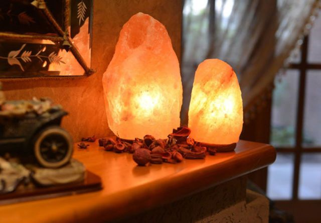 Salt Lamps May Be the Secret to Feeling Happier At Home