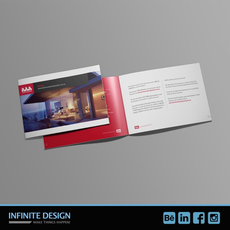 As I say the last week we are designing many many #brochure so here is one more! This time for a #RealState Website Marketplace from #Melbourne
