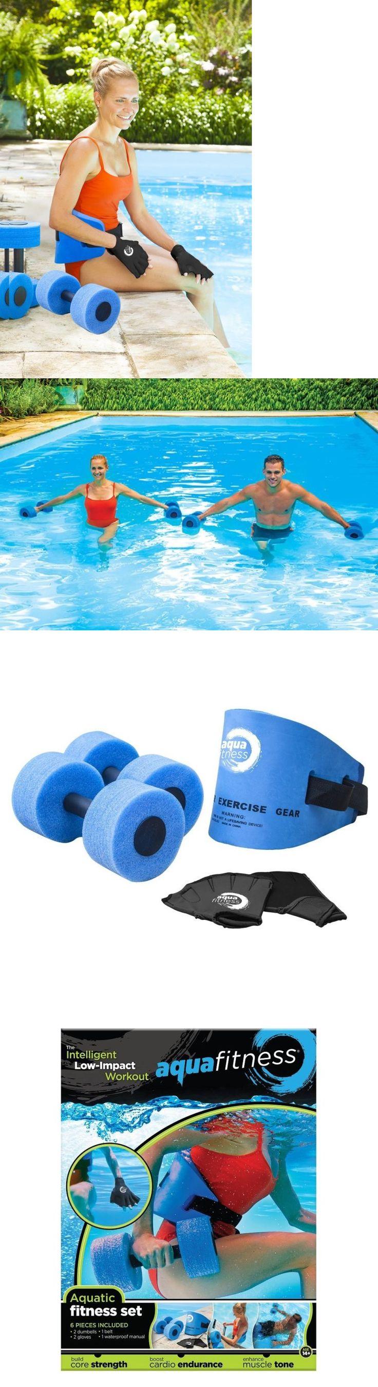 Aquatic Fitness Equipment 158922: Water Aerobics Workout Fitness Exercise Swim Flotation Belt Dumbbells Gloves New -> BUY IT NOW ONLY: $37.77 on eBay!