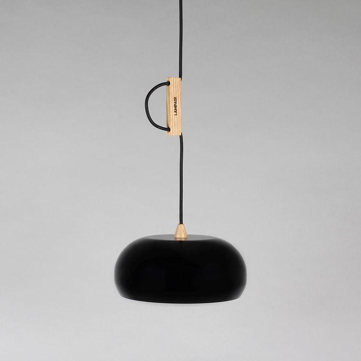 Rhoda CL noir / cuivre<br>- Suspension -