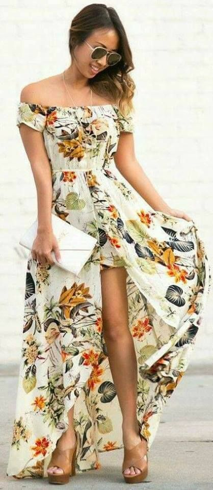 30 Maxi vestidos que puedes usar en tus vacaciones - Beauty and fashion ideas Fashion Trends, Latest Fashion Ideas and Style Tips