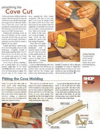 #8 Classic Cove Molding - Molding Construction