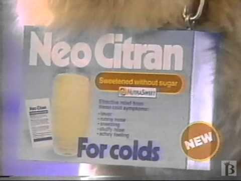 Neo Citran St. Bernard Commercial 1988