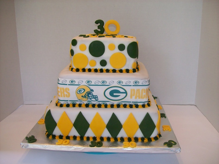 Cake Decor Colwyn Bay : 34 best GreenBay Party images on Pinterest Greenbay ...
