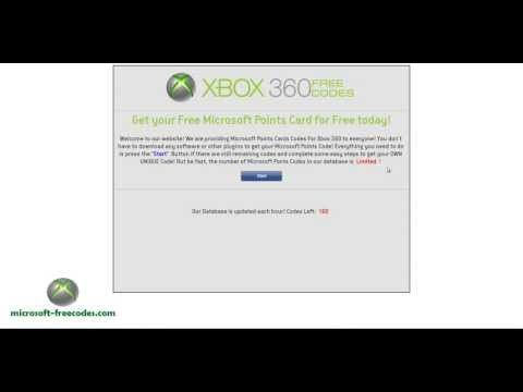 Free XBOX Live codes - NO GENERATOR!