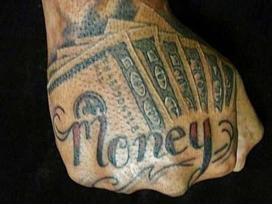 25 best ideas about money tattoo on pinterest money rose tattoo triangle imdb and pistol gun. Black Bedroom Furniture Sets. Home Design Ideas