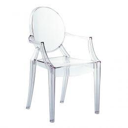Louis Ghost stol krystall .